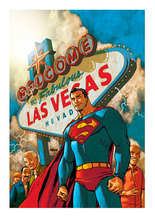 Superman Las Vegas Poster