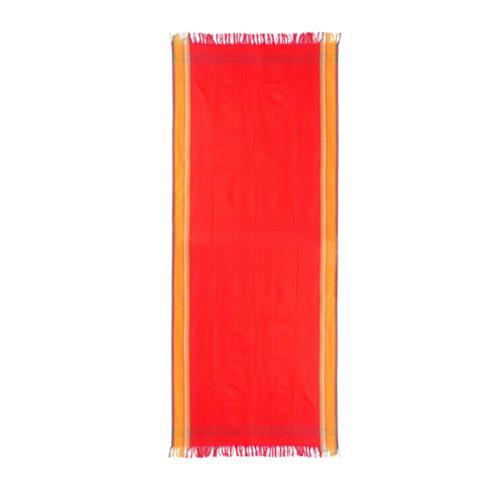 Kikoy Red 100% Cotton