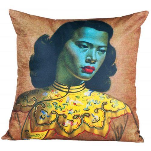 Tretchikoff Chinese Lady Cushion