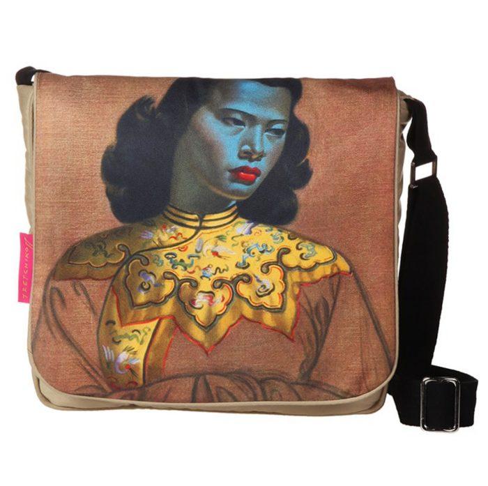 Tretchikoff Chinese Girl Postman/Ipad Handbag