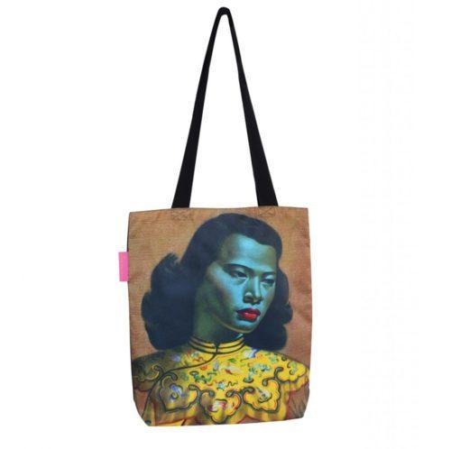 Tretchikoff Chinese Girl Tote Handbag