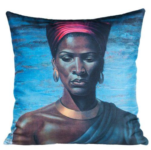Tretchikoff Zulu Girl Cushion