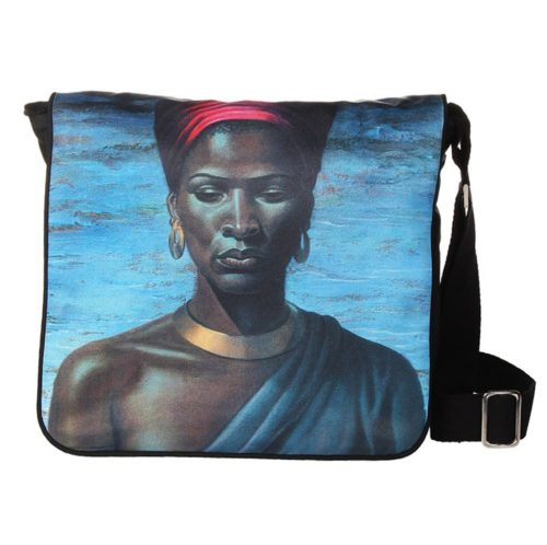 Tretchikoff Zulu Girl Postman/Ipad Handbag