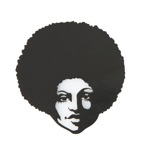 Afro Woman Fridge Magnet
