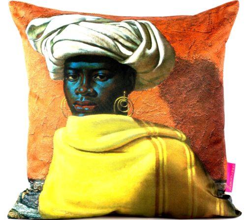 Tretchikoff Swazi Girl Cushion