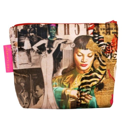 Tretchikoff Cosmetic Bag Collage