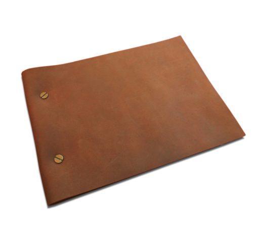 A5 size Handmade Leather Journal / Photo Album