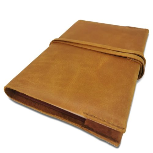 A5 Leather Slip Cover