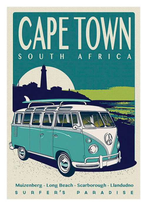 Cape Town South Africa Combi Surf