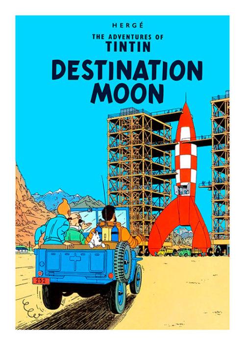 Tintin Destination Moon