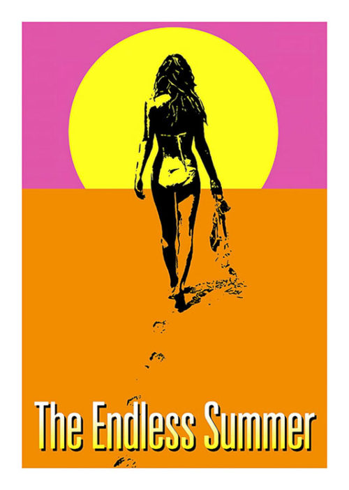 Endless Summer Surf Poster