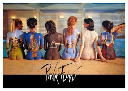 Pink Floyd Girls Poster