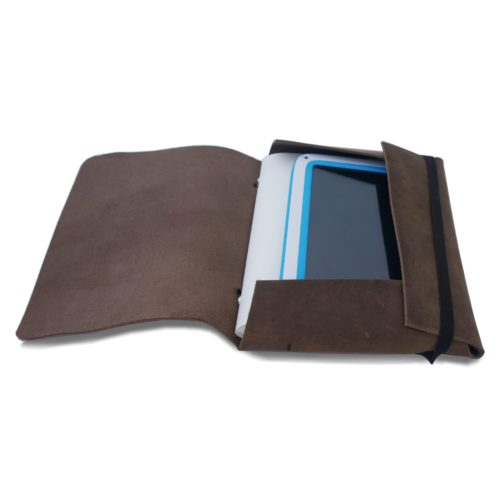Journal ipad cover leather