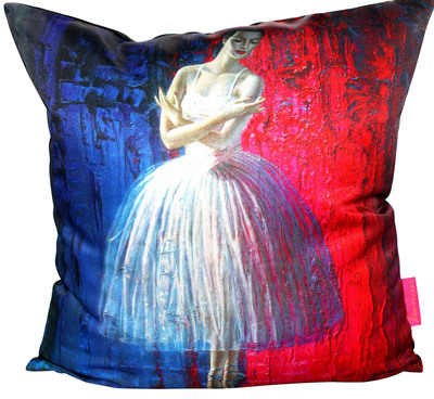 Ballerina Tretchikoff Cushion Cover 50cmx50cm