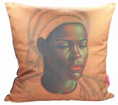 Tretchikoff Basotho Girl 50x50cm cushion cover