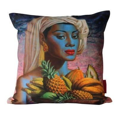 Tretchikoff Fruits of Bali 50x50cm cushion cover