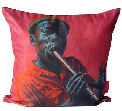 Tretchikoff Kwela Boy 50x50cm cushion cover