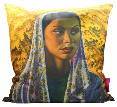 Tretchikoff Malay Bride 50x50cm cushion cover