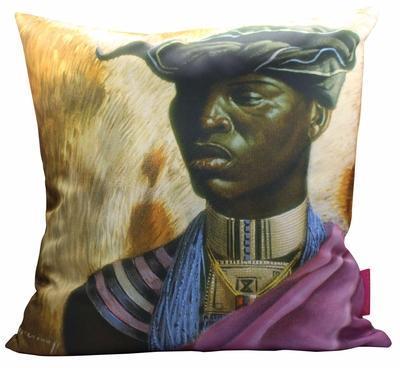 Tretchikoff Xhosa Chief Cushion 50x50cm Cover