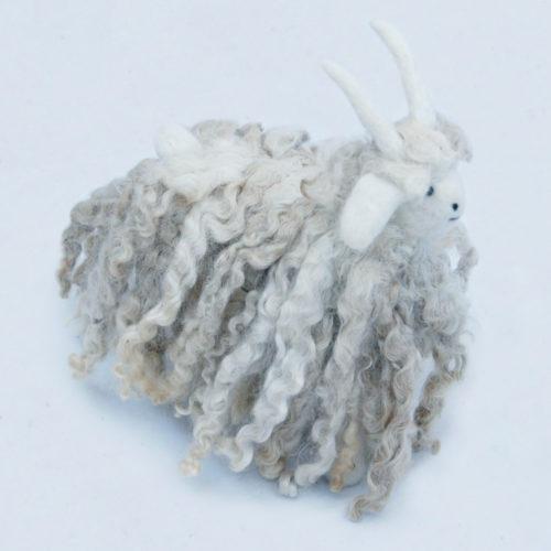 Cute Mohair ANgora Goat Soft Toy