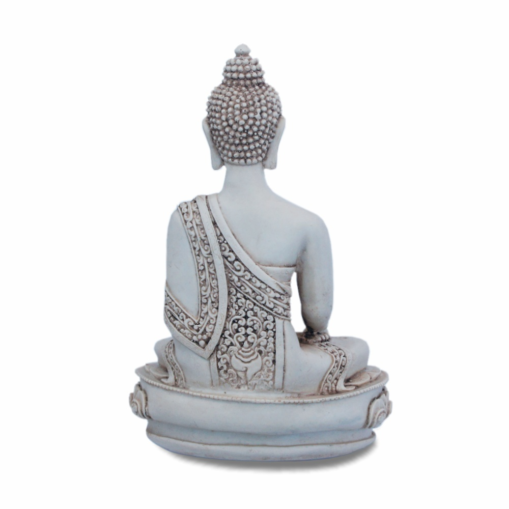 Resin Cast Buddha Statue viewed from the back