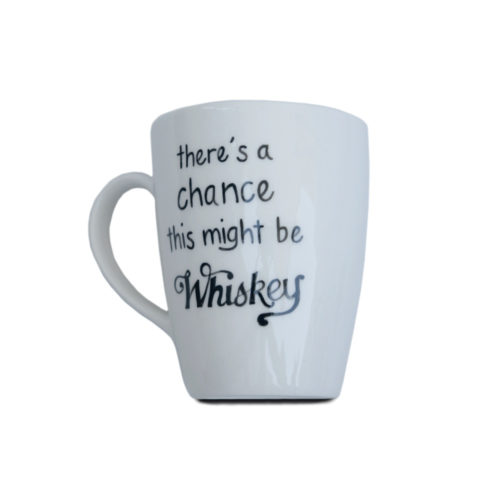 Ceramic Cup - There is A Chance This May Be Whisky
