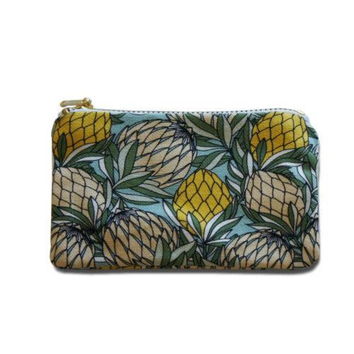 Makeup Bag With Protea Design