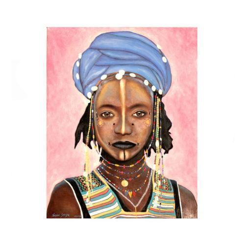 Via Afrika Painting Jason Steyn
