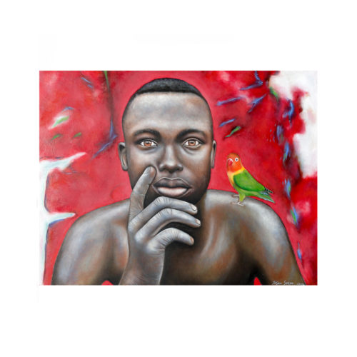 The Riddle Painting Jason Steyn
