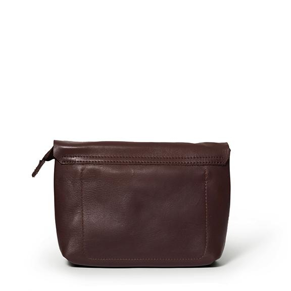 Antelo Jeanie XL Leather Crossbody Handbag - Brown