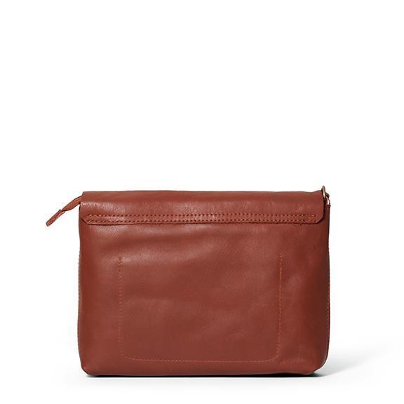 Antelo Jeanie XL Leather Crossbody Handbag - Tan