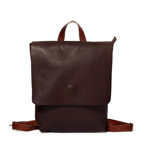 Brown & Barcelona Tan Henry Backpack by Antelo