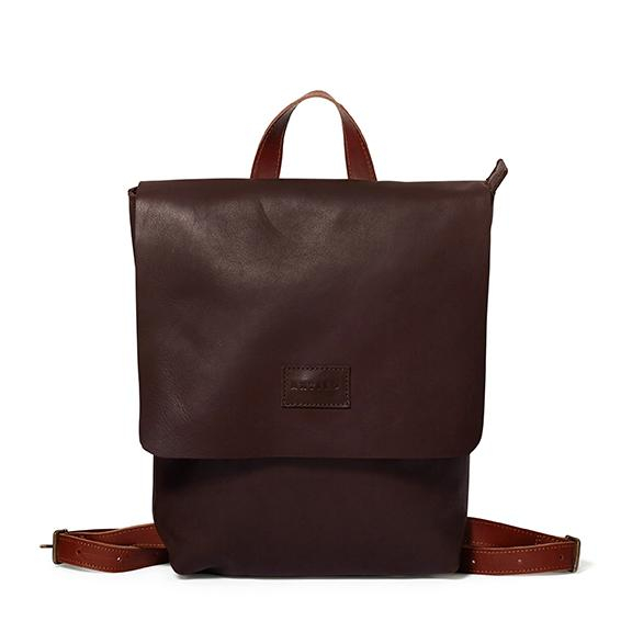 Brown & Barcelona Tan Henry Backpack by Antelo