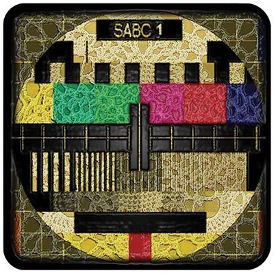 Buy a funky SABC Coaster for protecting your furniture from drink spills