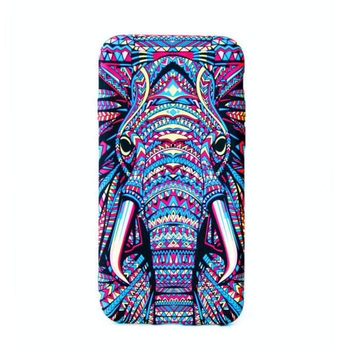 Glow in the dark cellphone cover for the iphone, samsung or huawei
