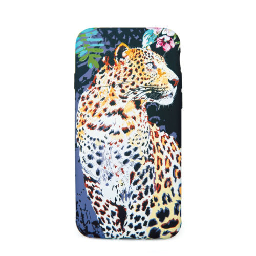 Glow in the dark cellphone cover for the iphone, samsung or huawei. Leopard Design