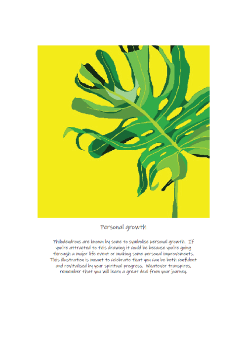 A4 Limited Edition Print - Rebecca Peters -personal growth