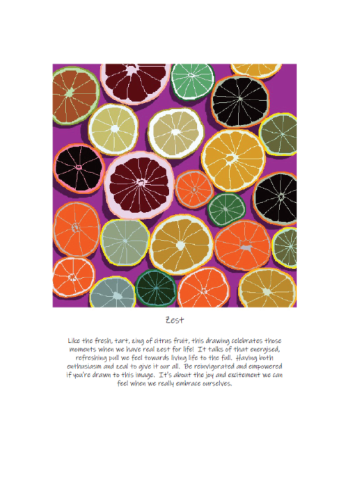 A4 Limited Edition Print - Rebecca Peters -zest