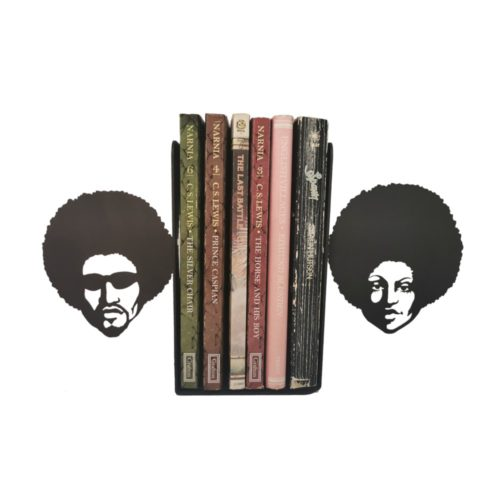 Afro Bookend Book End
