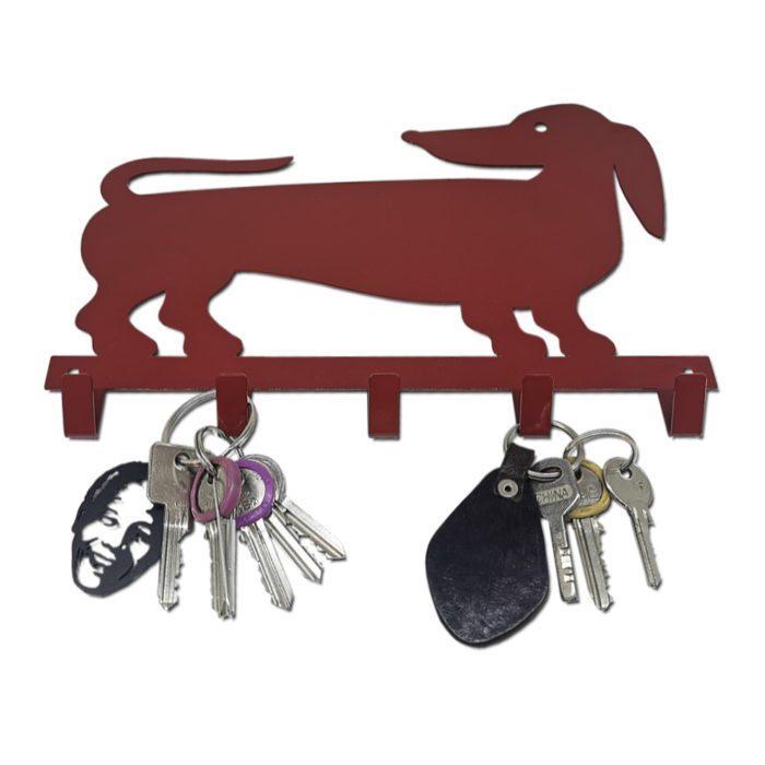 Daschund Key Holder Hook