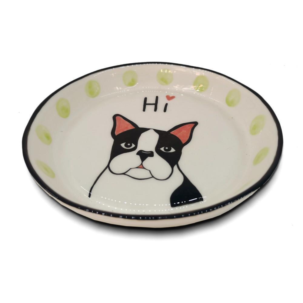 Dog Bowl Ceramic