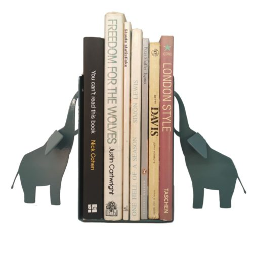 Elephant Bookend Book End