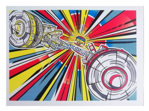 Combi Spaceship Poster