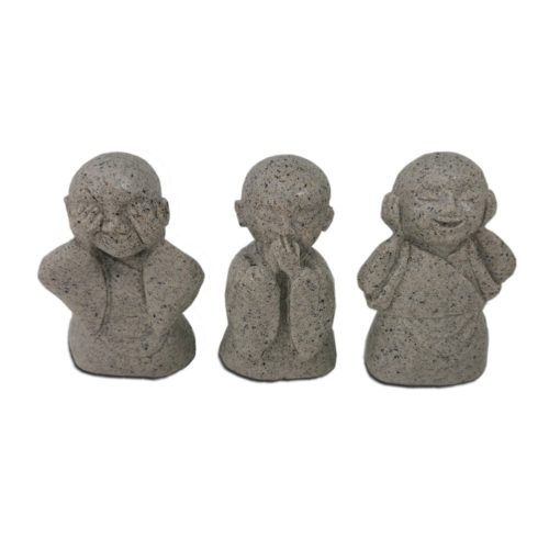 buddhist see no evil hear no evil speak no evil 330 11cm