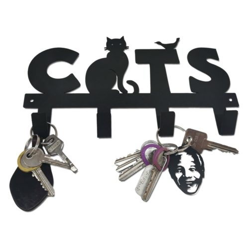 Cats Keyring Holder