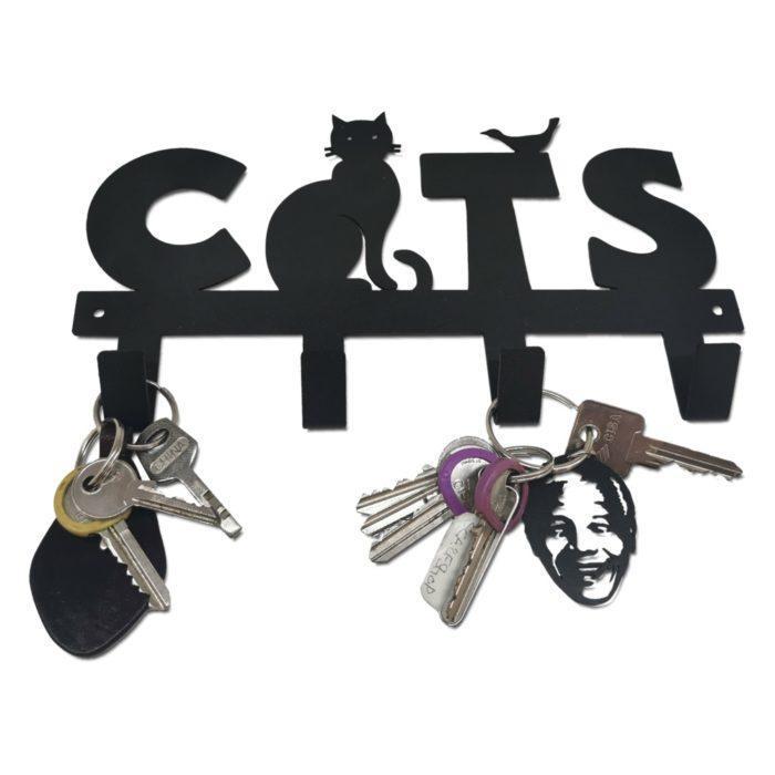 Cats Keyring Holder