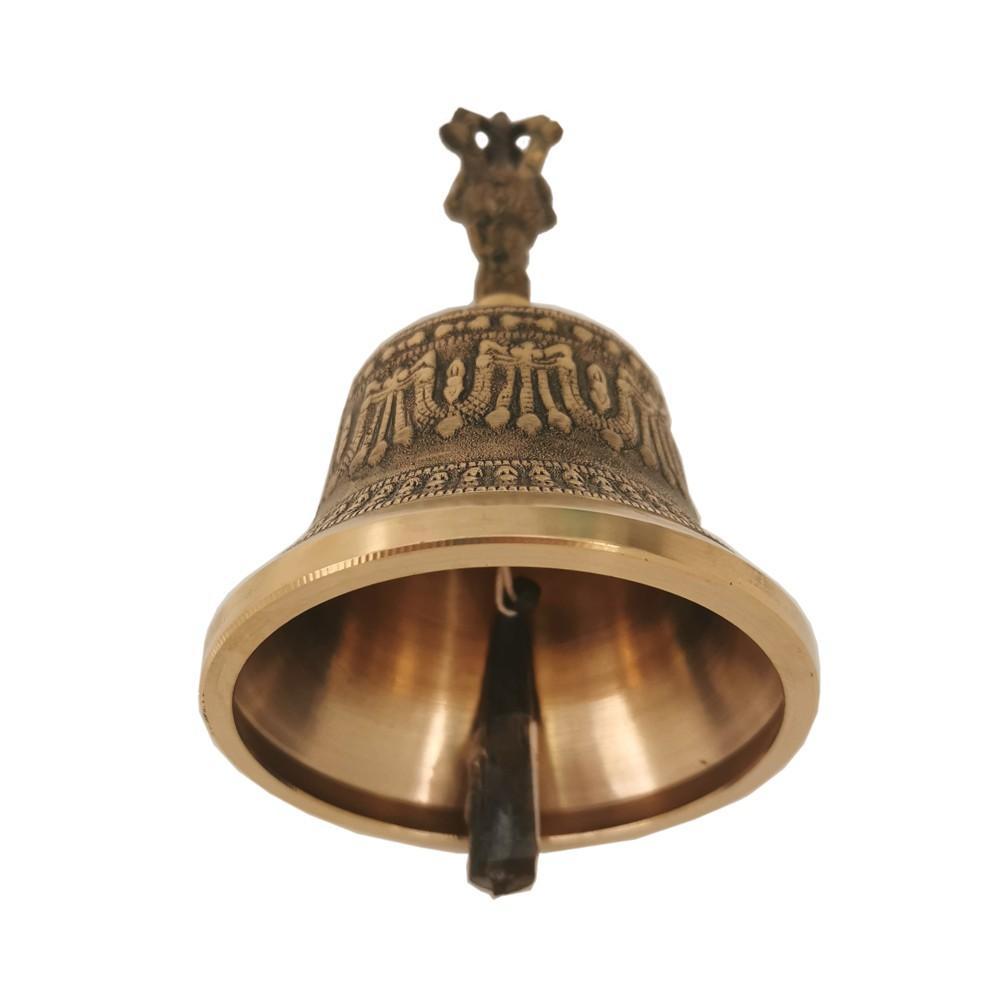 tibetan bell 15cm brass