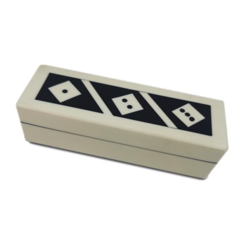 Dice Box Set - Wood and Bone